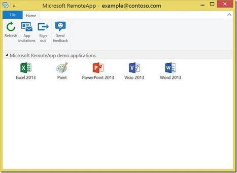 Microsoft Azure RemoteApp now available on Windows RT - Remote Desktop Services (Terminal Services) Team Blog - Site Home - MSDN Blogs   Cloud Computing and Windows Azure   Scoop.it