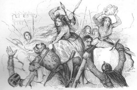 9 juillet 1472 défense de Beauvais sous la conduite de Jeanne Hachette | Racines de l'Art | Scoop.it