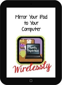 Purely Paperless: Mirror Your iPad to Your Computer Wirelessly | Serious Play | Scoop.it