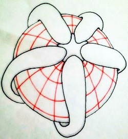 Tutorial: Sphere with tentacles | Artistic Line Designs-all free | Scoop.it