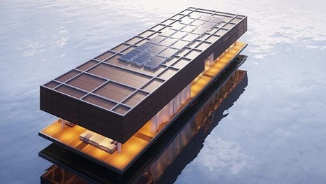 waterlovt houseboat offers luxury floating homes | Inspired By Design | Scoop.it