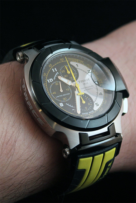 Tissot T-Race MotoGP 2012 Automatic Chronograph Watch Review | ablogtoread.com | Ductalk | Scoop.it