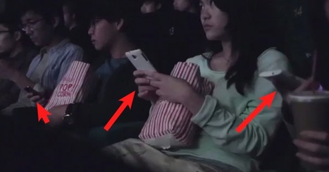 A Movie Theater Got Its Audience To Use Their Phones So It Could Teach Them A Lesson | Transmedia Storytelling for Business | Scoop.it