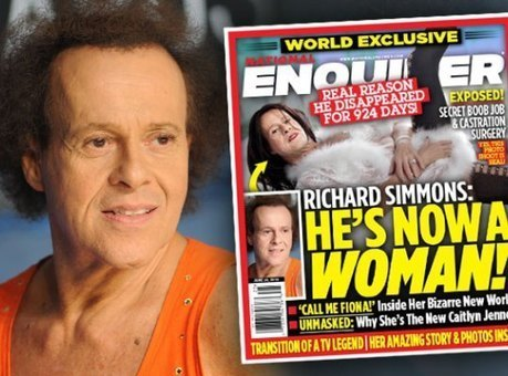 Sex Change Bombshell: Richard Simmons Is Secretly Living As A Woman! | Xposed | Scoop.it