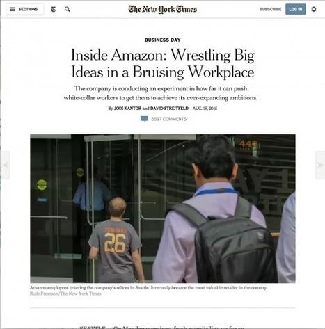 Réputation et communication de crise: L'expression des salariés est-elle amenée à s'amplifier avec le digital ? Le cas Amazon | Enfin ! Actualités communication | Scoop.it