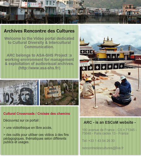 ARC - Archives Rencontre des Cultures | Audiovisual Archives - Digital Heritage | Scoop.it