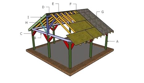Free Pavilion Plans   Garden Plans   Scoop.it