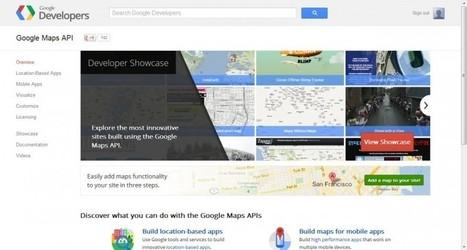 Google lanza nueva web de referencia sobre el API de Google Maps | #GoogleMaps | Scoop.it