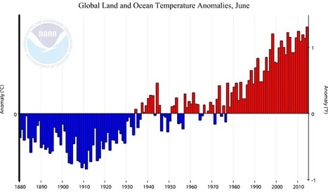 Sea Surface Temperatures Push Globe To Hottest June Yet | Garry Rogers Nature Conservation News | Scoop.it