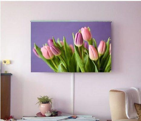 Estores Siyayes para decorar la televisión | Mil Ideas de Decoración | Decoración de interiores | Scoop.it