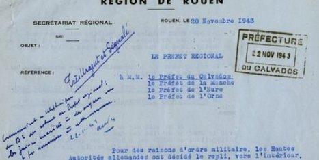 Journée de la déportation : les archives parlent aussi – - France 3 Basse-Normandie | Nos Racines | Scoop.it
