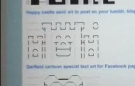 The Happy Castle - ASCII Artist | ASCII Art | Scoop.it