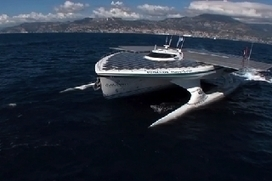 World largest solar powered ship | OUR OCEANS NEED US | Scoop.it