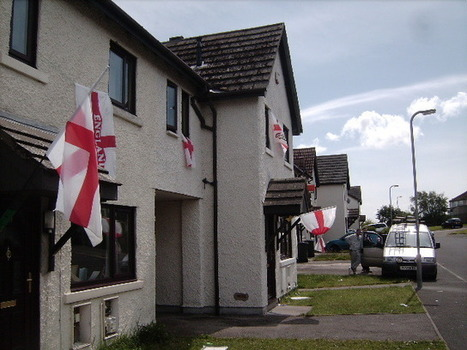 """Cumbrians told """"Take down those England flags"""" 
