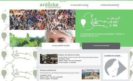 L'ardèche se dote d'un site pour soutenir les projets locaux en financement participatif | Entreprenariat féminin (2) | Scoop.it
