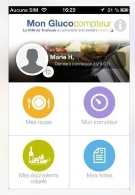Mon Glucocompteur : n°1 au classement Doctissimo des applications mobiles diabète | Buzz e-sante | Scoop.it