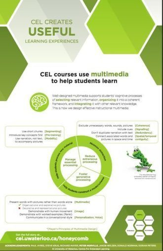 An excellent guide to multimedia course design | Tony Bates | Educando en la SIC | Scoop.it
