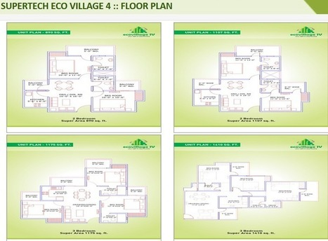 Supertech Eco Village 3 comes as a premium township « SUPERTECH PROPERTY in INDIA | Residential Property in Noida | Scoop.it