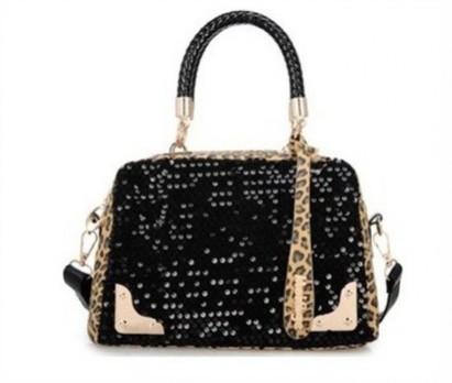 Leopard Grain Sequins Handbag from Ikoala shopping deal | Daily Deals Online | Scoop.it