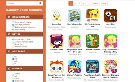 Moms With Apps aims to direct parents to responsible apps for kids | Publishing Digital Book Apps for Kids | Scoop.it