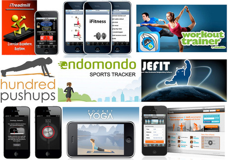 20 iPhone Fitness Apps to Get You in Shape  | Gadget Review | How to Use an iPhone Well | Scoop.it