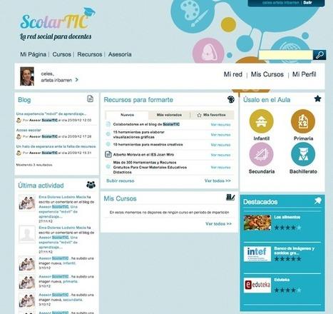 Educación tecnológica: ScolarTIC: red social para docentes | Educacion, ecologia y TIC | Scoop.it