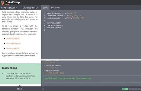 Learn Data Science Online with DataCamp   opexxx   Scoop.it