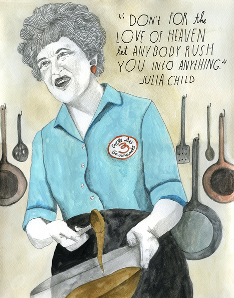 Food Ways - When pioneering chef Julia Child (August 15, 1912–August 13, 2004) was finally able to publish her landmark labor-of-love ... | My I Like Eating Channel | Scoop.it