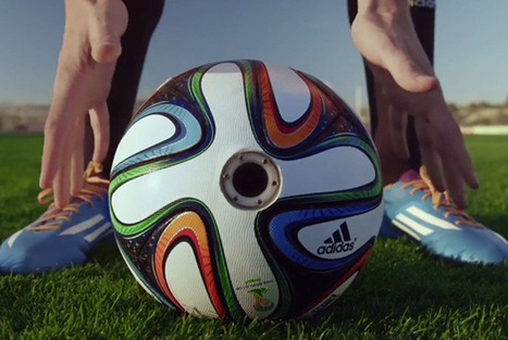 Camera-equipped soccer ball will bring new views to World Cup | Competitive Edge | Scoop.it