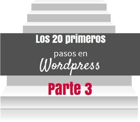 Los 20 primeros pasos en Wordpress - Parte 3 | IncluTICs | Scoop.it