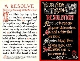 How To Make, Keep, and Prosper From New Year's Resolutions - Forbes | Personal Development Psychology | Scoop.it