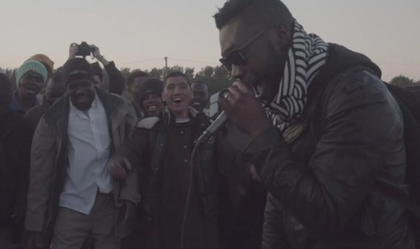 Grime MC Afrikan Boy plays gig to migrants in Calais - watch | NME.COM | Music | Scoop.it