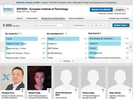 Comment sourcer avec LinkedIn Université ? - Link Humans   Network RH - sourcing de candidats   Scoop.it