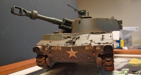 Vietnam M109, 4th ID 1969 | Military Miniatures H.Q. | Scoop.it