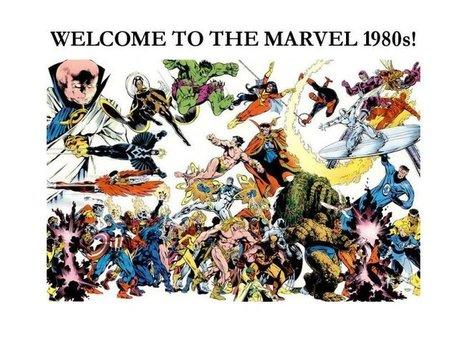 Marvel Comics of the 1980s | MARVEL | Scoop.it