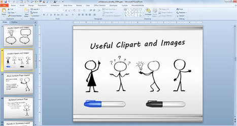 Awesome Whiteboard Symbols PowerPoint Templates for Presentations | PowerPoint Presentation | wang | Scoop.it