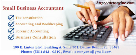 Accountant for Small Business Delray Beach | CPA and Tax Consulting | Scoop.it