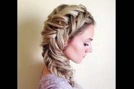 Dutch Fishtail Braid Tutorial - Latest Fashion Trends | Style Den | Scoop.it