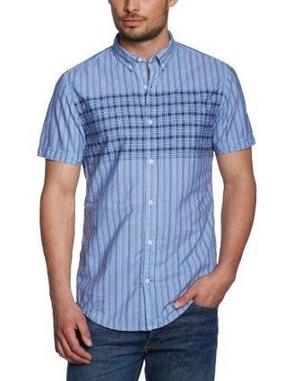 @1@   s.Oliver Herren Freizeithemd Slim Fit 13.303.22.2638, Gr. 52/54 (XL), Blau (52N1)   Hemden Bekleidung   Scoop.it