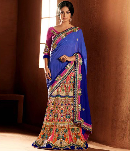 Glamorous Lehenga Sarees ready to evoke the beauty of women in you. | Online Shopping India | Scoop.it