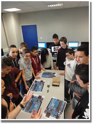 Des collégiens toulonnais réalisent une station météo avec les dernières technologies - ac-nice.fr | Ressources pour la Technologie au College | Scoop.it