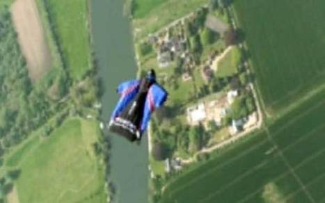 Headcam footage of wingman Gary Connery's skydive without parachute - Telegraph   Wingsuiting   Scoop.it
