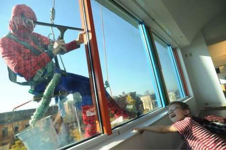 Comic book heroes lift spirits, fight grime at Children's Hospital | Special Needs, Special Creativity | Scoop.it