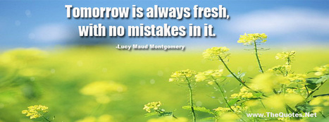 Lucy Maud Montgomery Quotes   TheQuotes.Net - Motivational Quotes   Latest Technology News   Scoop.it