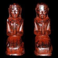 A pair of 20th century Burmese female monks | Useful Information | Scoop.it