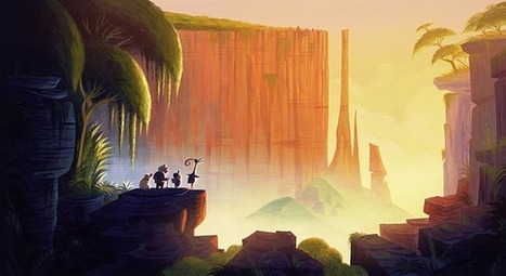Beautiful Concept Art By Pixar - Funofart | Machinimania | Scoop.it