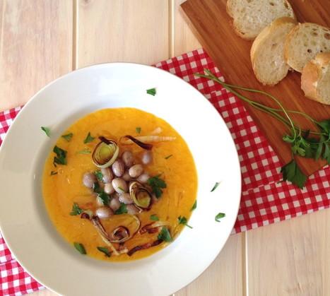 My Health Dish » Vegan Butternut Squash Soup with Cranberry Beans | My Vegan recipes | Scoop.it