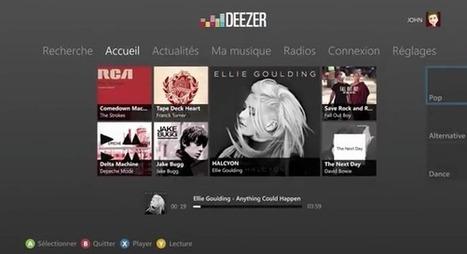 Deezer arrive sur Xbox avec la technologie Kinect   Actualité mobile, trucs et astuces   Scoop.it