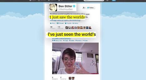 Opération RedBalloon : Des enfants apprennent l'anglais en corrigeant les fautes des célébrités | Web Digital Social Lowcost | Scoop.it
