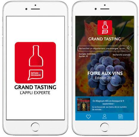 Grand Tasting, l'appli qui veut digitaliser les foires aux vins | STORE & DIGITAL | Scoop.it